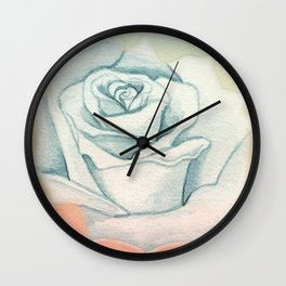PASTEL ROSE Wall Clock