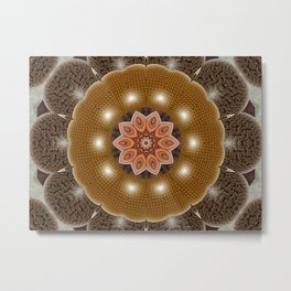 Mandala Flower 9 Metal Print