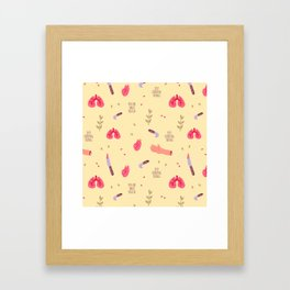 You're What You Eat Framed Art Print
