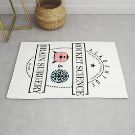 Academy of Rocket Science & Brain Surgery Rug