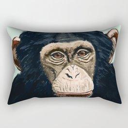 Chimpanzee Rectangular Pillow