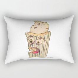 A cupcake named Igor Rectangular Pillow