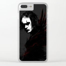 The Crow Clear iPhone Case