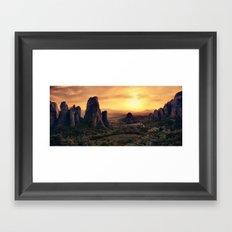 Meteorama Framed Art Print