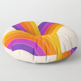 Bounce - Rainbow Floor Pillow