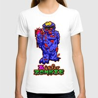 sesame street T-shirts featuring Z IS FOR ZOMBIE!  Everyone's favorite Muppet from Sesame Street:  Cookie Monster...  THE ZOMBIE! by beetoons