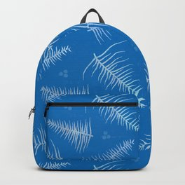 Frosted Fronds & Berries Backpack