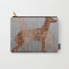 Dogs and alphabet pattern Carry-All Pouch