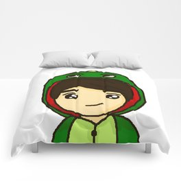 Danisnotonfire the Dinosaur Comforters