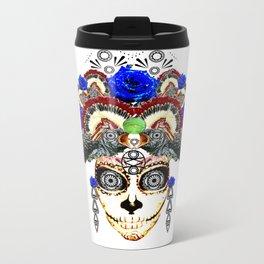 Cruella del Rosa Metal Travel Mug