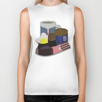breakfast club Biker Tanks featuring Breakfast Club by Matt Humphrey