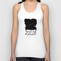 221b Tank Tops featuring 221B by Jessica May