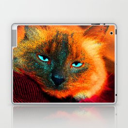 Mystic kitty Laptop & iPad Skin