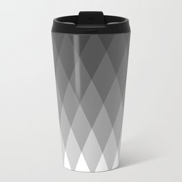 Minimalist triangles Travel Mug
