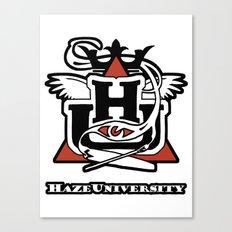 HAZE UNIVERSITY Canvas Print