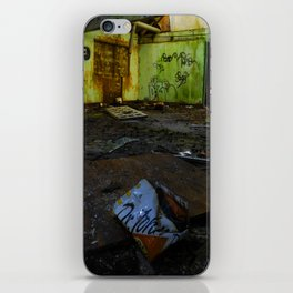 moody abandoned building iPhone Skin