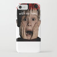home alone iPhone & iPod Cases featuring Home Alone by Darius Malone