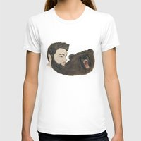 beard T-shirts featuring BEARd by Casie Tanksley