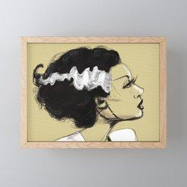 The Bride Framed Mini Art Print