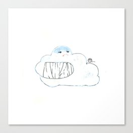 Pal-cloud Canvas Print