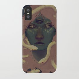 of witches and pets iPhone Case