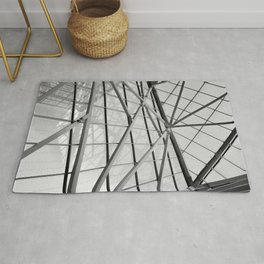 Modern Abstract Architecture Rug