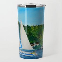 Come Sail Away Travel Mug