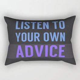 Listen Up Rectangular Pillow
