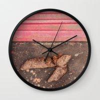 poop Wall Clocks featuring Got Poop? by Josh Lohmeyer