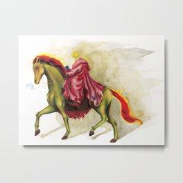 Horsemen Sleepy  Hollow  Metal Print