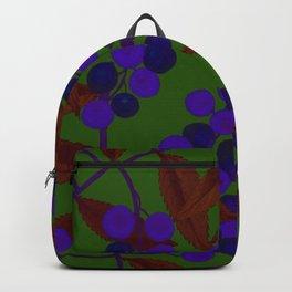 Purple berries Backpack