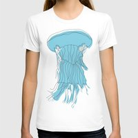 medusa T-shirts featuring medusa by Manola  Argento