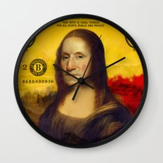 Bitch Better Have My Money Wall Clock
