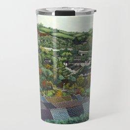 Pontypridd (featuring Sardis Road Rugby Ground) Travel Mug