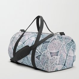 Frosted Leaves Duffle Bag