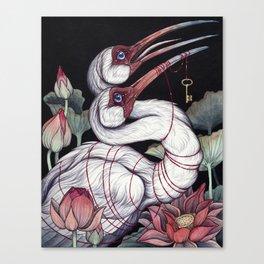 Sacred Ibis Canvas Print