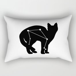 libra cat Rectangular Pillow