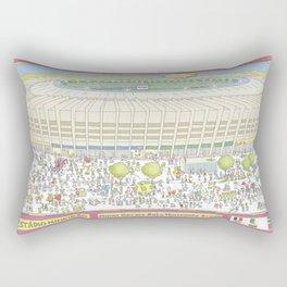 Mineirao Soccer Arena, Belo Horizonte, Brazil Rectangular Pillow