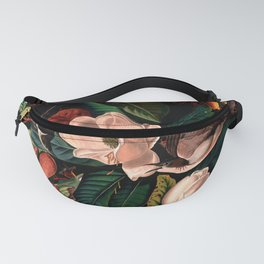 FLORAL AND BIRDS XIV Fanny Pack