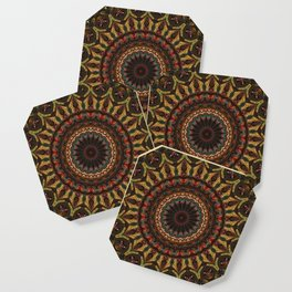 Trippy Fractal Kaleidoscope 2 Coaster