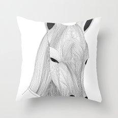 -Horse- Throw Pillow