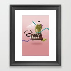 ILOVEMUSIC #4 Framed Art Print