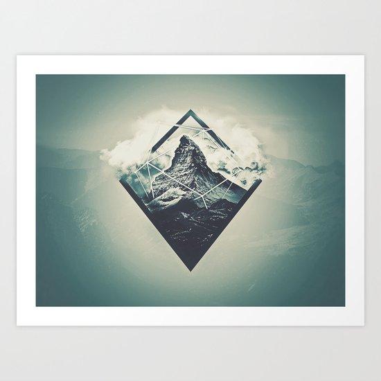 S0LID GRØUND Art Print