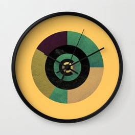 Circle Fibonacci.2 Wall Clock