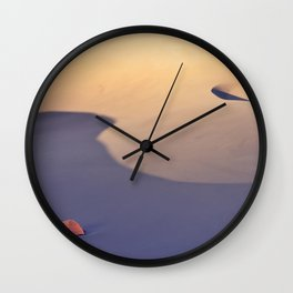 Sandy Waves Wall Clock