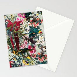 FLORAL AND BIRDS XXII Stationery Cards