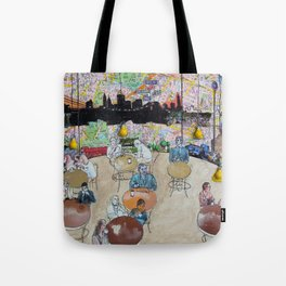 Coffee Shop NYC Tote Bag