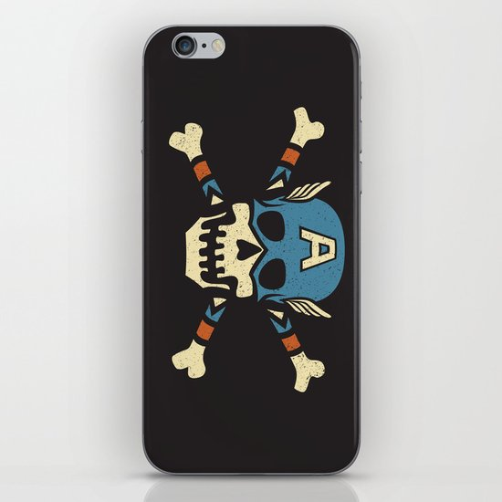 Captain 'Jolly' Rogers  iPhone Skin