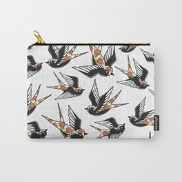Rose Sparrows Carry-All Pouch
