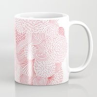 fireworks Mugs featuring Fireworks by Marcelo Romero